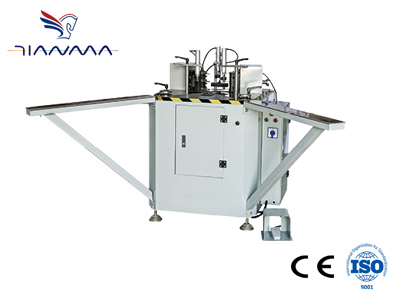 Heavy duty synchronous Corner Combining Machine
