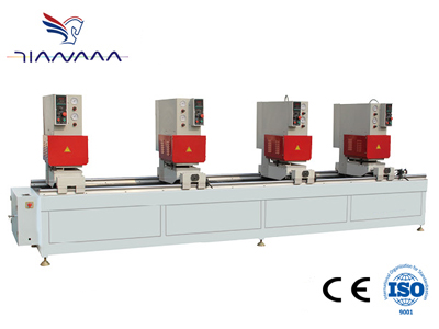 Four-head fully seamless welding machine